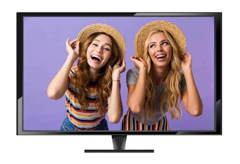 Photobooth huren met tv of monitor